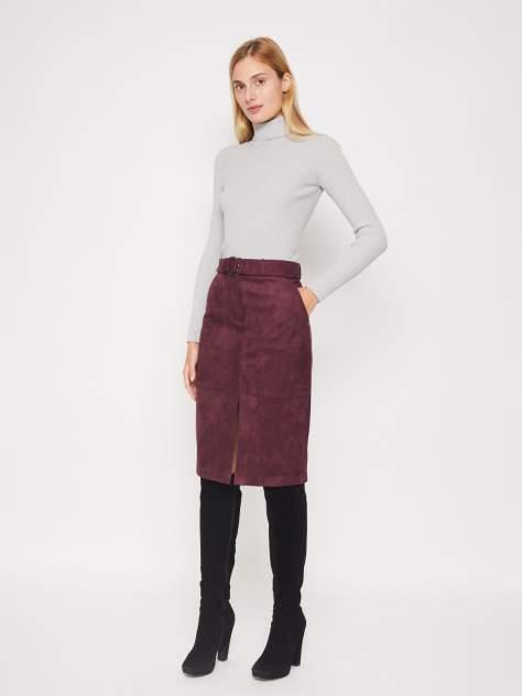 Женская юбка Zolla 021337839053, бордовый