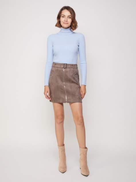 Женская юбка Zolla 221347839061, коричневый
