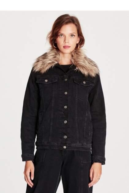 Джинсовая куртка женская Mavi 110154-30077 черная XS