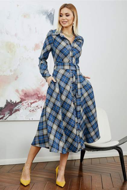 Женское платье BEZKO БПИ 3222, синий