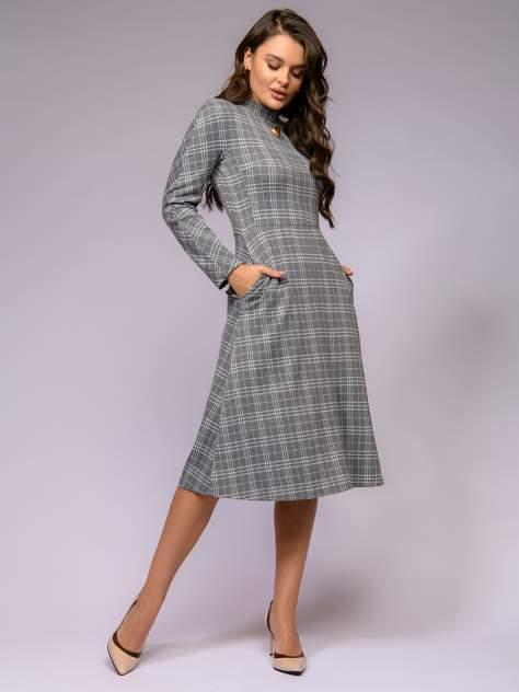 Женское платье 1001dress 0122001-01724GY, серый
