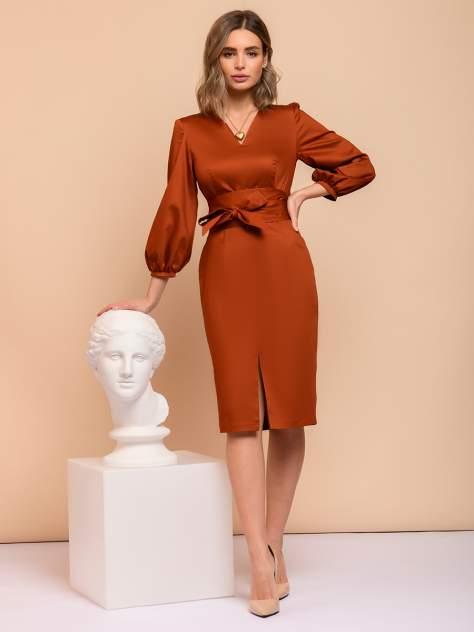 Женское платье 1001dress 0122001-01800TC, оранжевый