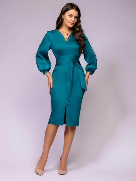 Женское платье 1001dress 0122001-01800TC, зеленый