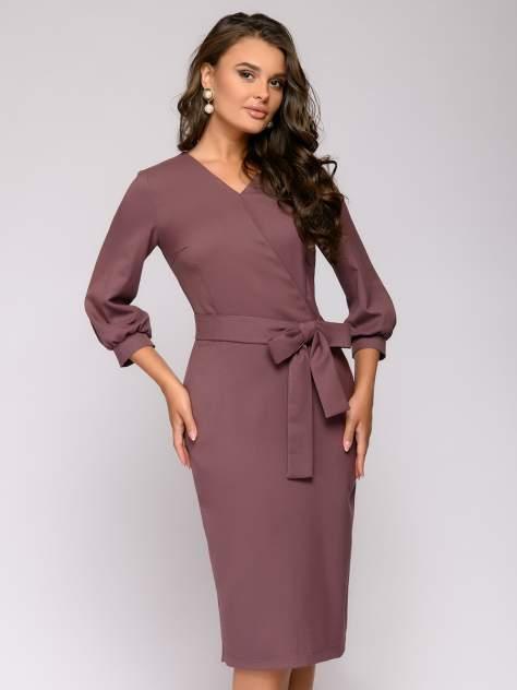 Женское платье 1001dress 0122001-02199BK, коричневый