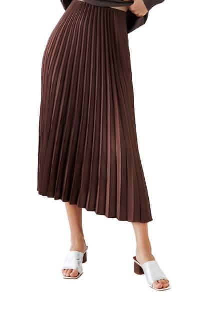 Юбка женская ZARINA 328205205 коричневая 42