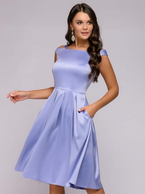 Женское платье 1001dress 0122001-02235BK, фиолетовый