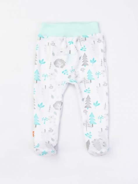 Ползунки Лесные Мишки Котмаркот 5040951 для новорожденных белый р.56