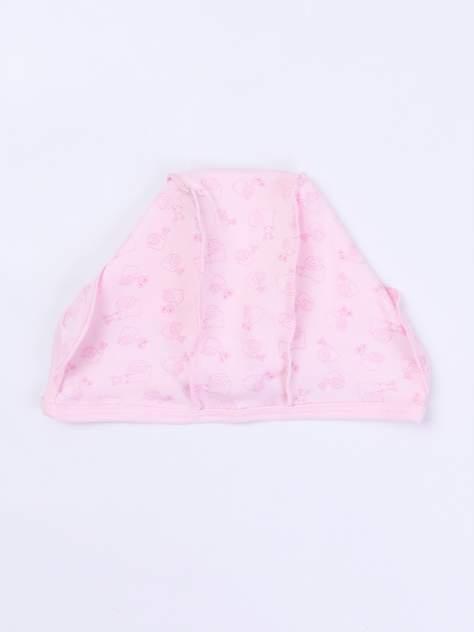 Чепчик Улиточка Котмаркот 1011026 для девочек розовый р.40