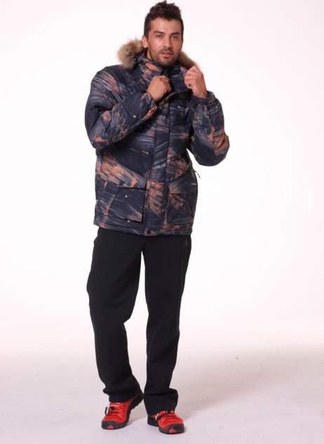Куртка мужская VALIANLY 92114K коричневая 46 RU