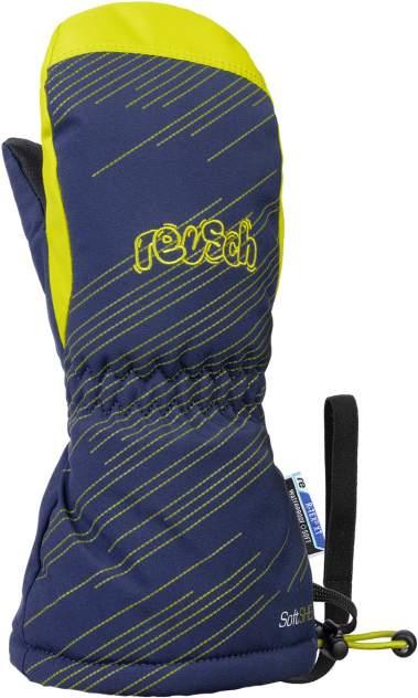 Варежки Reusch 2020-21 Maxi R-Tex® Xt Mitten Dress Blue/Lime Inch Дюйм:Iv