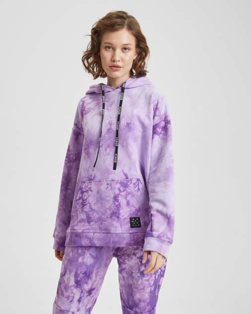 Худи BARMARISKA ХЖ-Б0243, фиолетовый