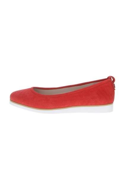 Балетки женские Massimo Santini 9S8101000403 красные 40 RU