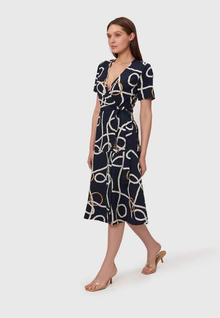 Повседневное платье женское Modis M201W00536A757 синее 46