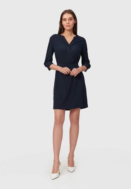 Повседневное платье женское Modis M211W00477A757 синее 50