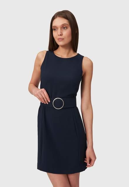 Повседневное платье женское Modis M211W00479A757 синее 46