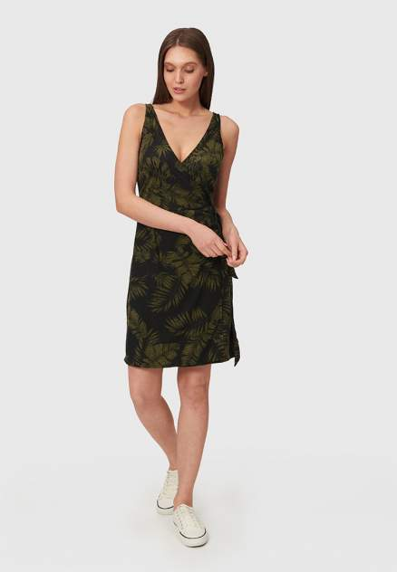 Повседневное платье женское Modis M211W00776S642 черное 46-48