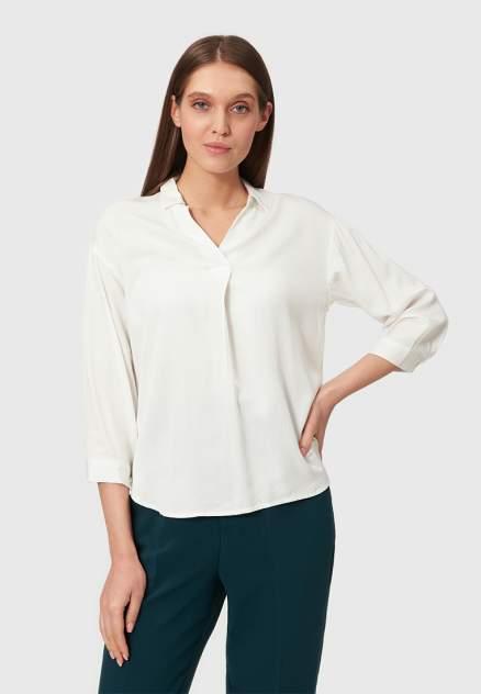 Рубашка женская Modis M211W00068O070 белая 48