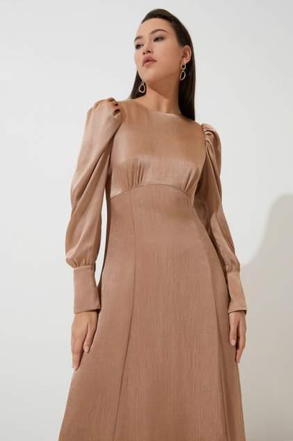 Вечернее платье женское ZARINA 422035535 бежевое 92