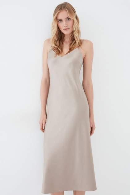 Платье-комбинация женское ZARINA 422000502 бежевое 88