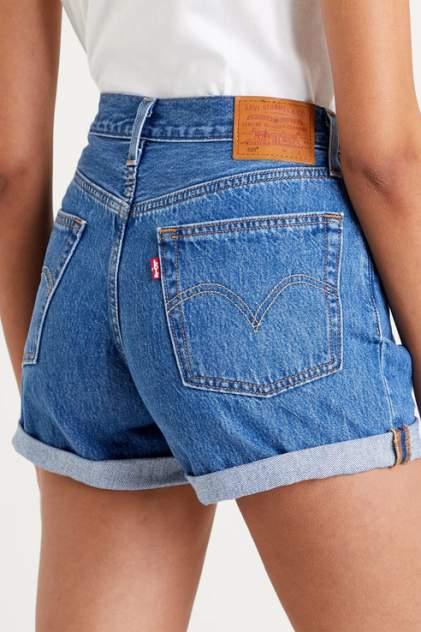 Джинсовые шорты женские Levi's 29961-0021 синие 28