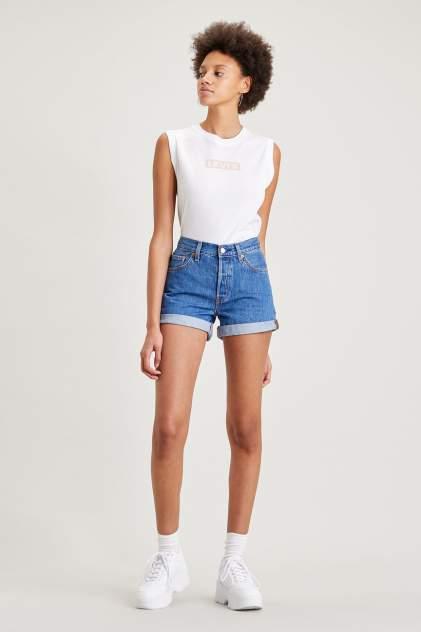 Джинсовые шорты женские Levi's 29961-0021 синие 26