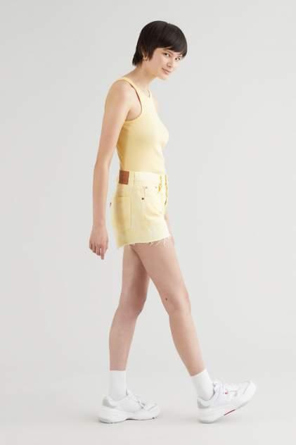 Женские шорты Levi's 56327, желтый
