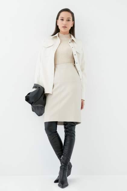 Женская юбка ZARINA 1123216216, бежевый