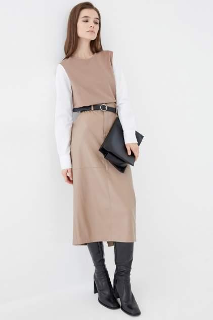 Женская юбка ZARINA 1121207207, коричневый