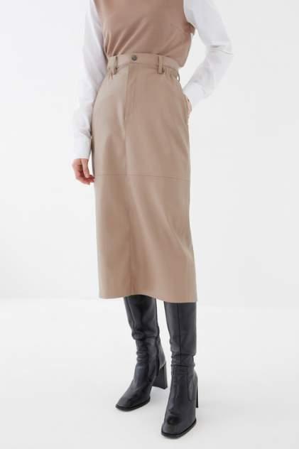 Юбка женская ZARINA 1121207207 коричневая 42