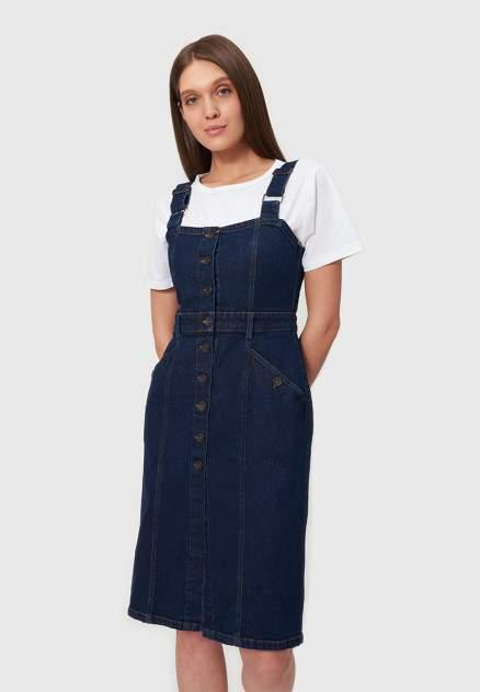 Платье-сарафан женское Modis M202D00091S751 синее 42