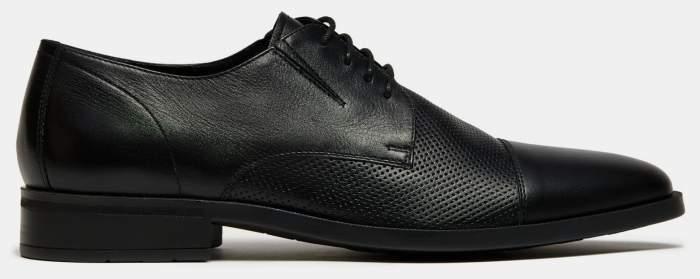 Туфли мужские Ralf Ringer 140106 черные 44 RU