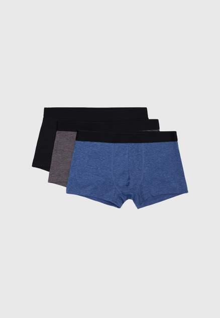 Мужские трусы Modis M202U00681, серый, черный, синий