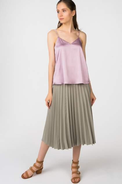 Топ женский T-Skirt 16SS-04-0119-BS фиолетовый 44
