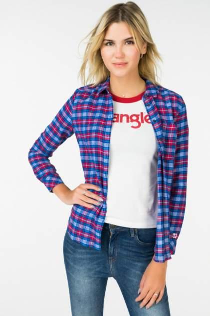 Рубашка женская Tommy Hilfiger DW0DW05258 разноцветная 46