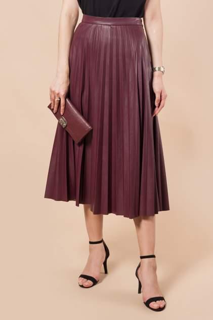 Женская юбка Vilatte D26.397, бордовый