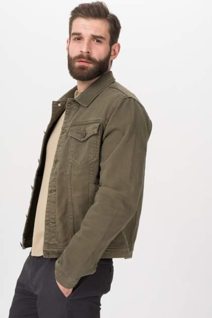Джинсовая куртка мужская Tom Farr T4F M2402.47 (002-1-coll) хаки 50 RU