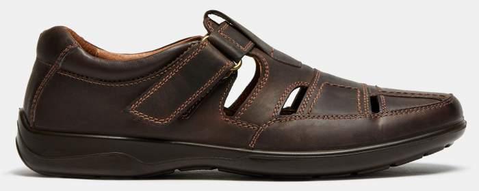 Сандалии мужские Ralf Ringer 582111 коричневые 45 RU