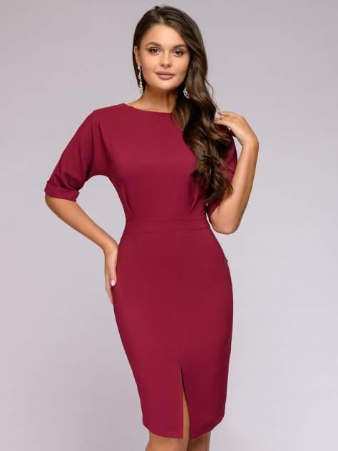 Женское платье 1001dress 0122001-02339BG, бордовый