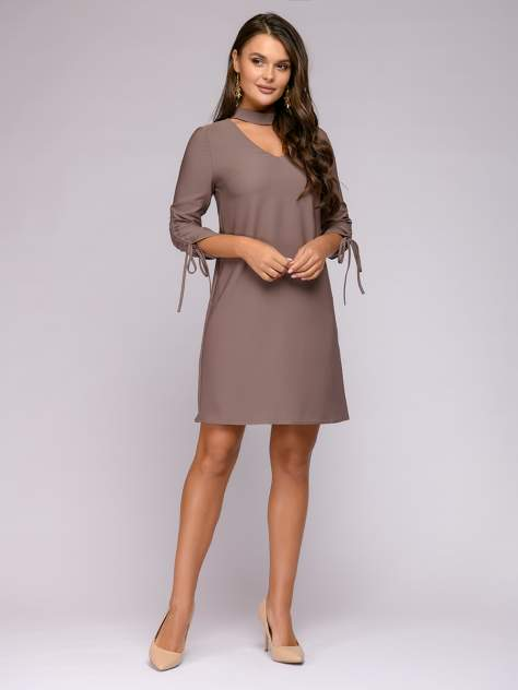 Женское платье 1001dress 0122001-02340BG, бежевый