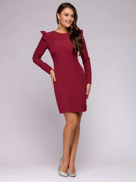 Женское платье 1001dress 0122001-02343BG, бордовый