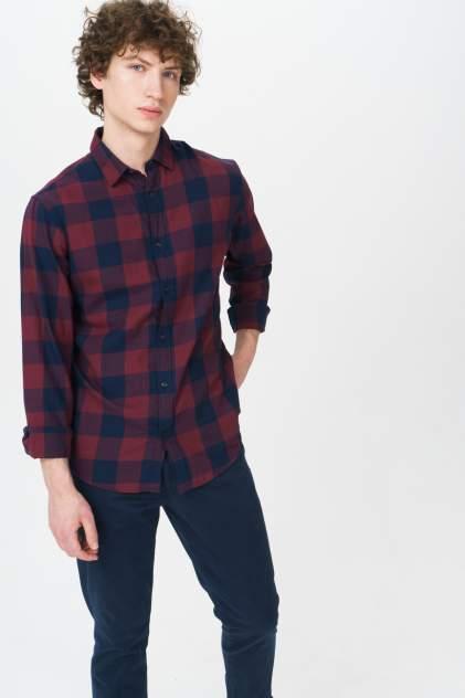 Рубашка мужская Jack & Jones 12181602, коричневый