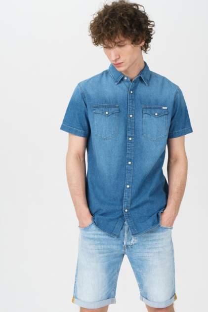 Рубашка мужская Jack & Jones 12159371, синий