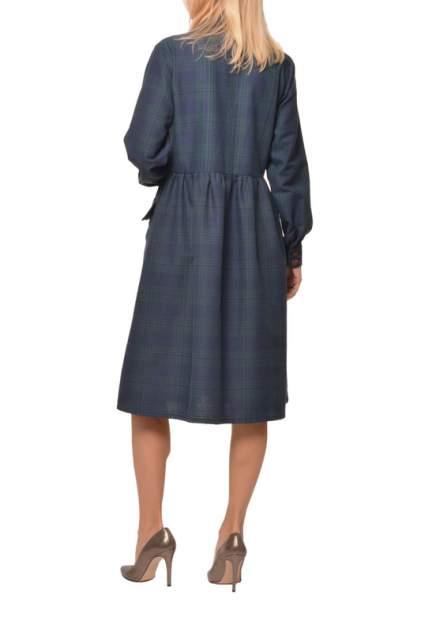 Платье-рубашка женское LISA BOHO TONI 200105 синее 52-54