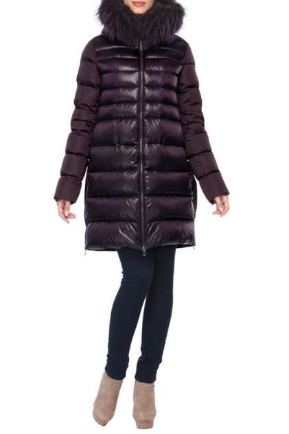Пуховик-пальто женское Conso WLF170540 фиолетовое 40