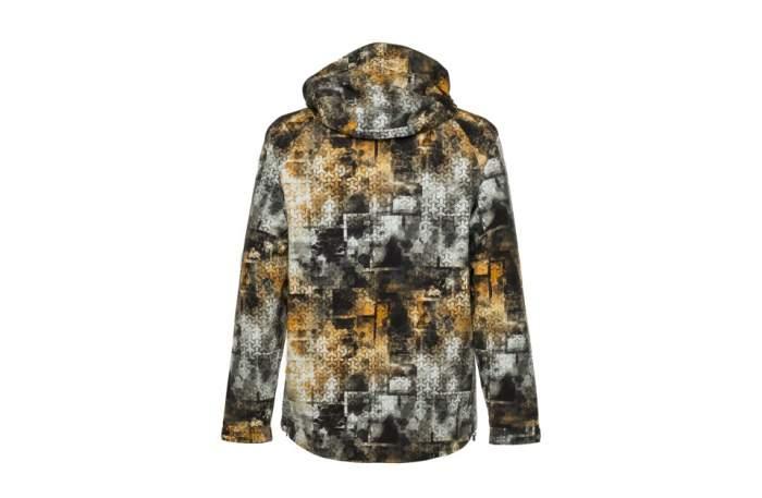 Куртка FHM Pharos, принт серо-оранжевый, XXL