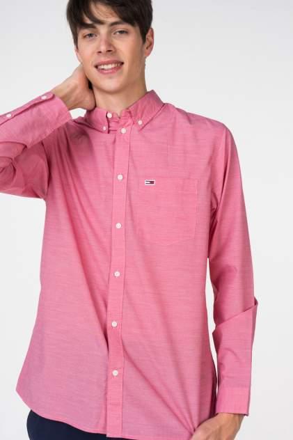 Рубашка мужская Tommy Hilfiger DM0DM05467, розовый