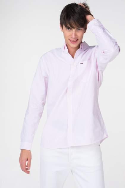 Рубашка мужская Tommy Hilfiger DM0DM05665, розовый