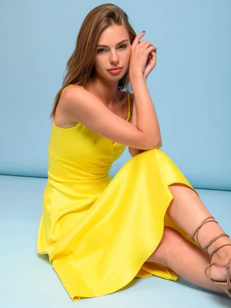 Женское платье 1001dress 0132101-02532BK, желтый