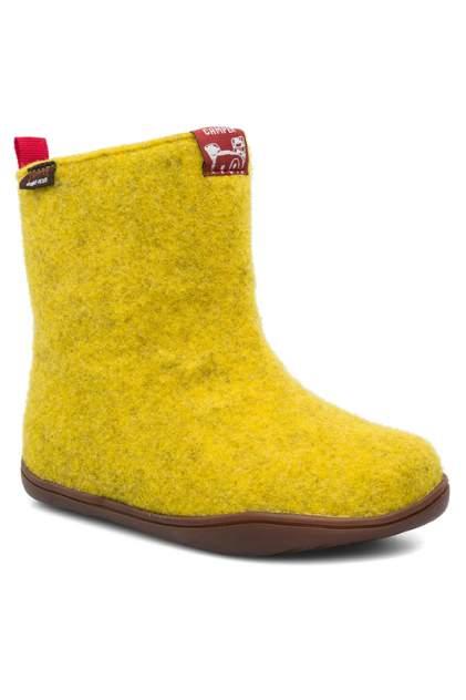 Валенки CAMPER желтый р.34