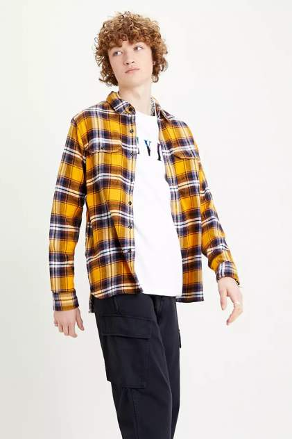 Рубашка мужская Levi's 1957301240 желтая 50